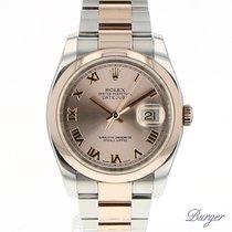 Rolex Datejust 36 Everose Gold/Steel