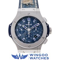 Hublot - BIG BANG JEANS STEEL Ref. 301.SL.2770.NRJ