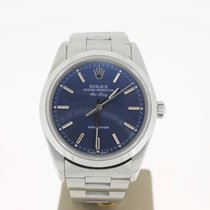 Rolex Air King Precision Steel 34mm BlueDial (BOX1997) MINT