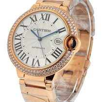 Cartier WE9008Z3 Ballon Bleu w/ Diamond Case - Large Size -...