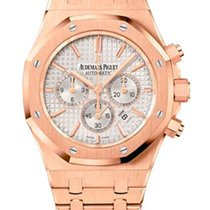 Audemars Piguet Royal Oak Chronograph 18K Pink Gold Men's...
