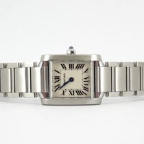 Cartier Tank Française ( new movement and full set)