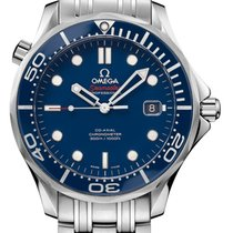 Omega Seamaster Diver 300m 41mm Blue Steel 212.30.41.20.03.001