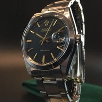 Rolex Oysterdate Precision with rare Black Dial, Ref. 6694...