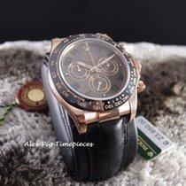 勞力士 (Rolex) Daytona 18K Rose Gold Ceramic 116515LN Chocolate...