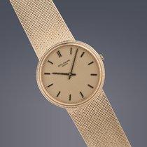 Patek Philippe Pre-owned  Calatrava 18ct gold watch manual