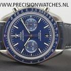 Omega Speedmaster Moonwatch Blue