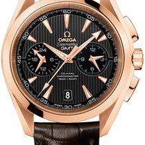 Omega Aqua Terra 150m Co-Axial GMT Chronograph 43mm 231.53.43....