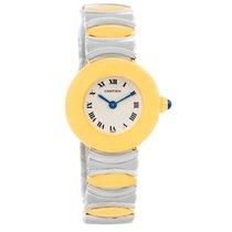 カルティエ (Cartier) Casque Ladies Stainless Steel 18k Yellow Gold...