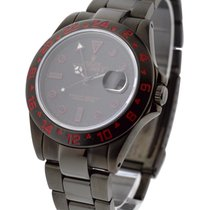 롤렉스 (Rolex) Used 16570_pvd_red Explorer II DLC with Red...