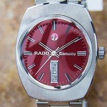 라도 (Rado) Conway Rare Automatic Day Date Swiss Made Watch For...