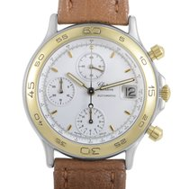 Certified Pre-Owned Chopard Mens Automatic Gold Plated...