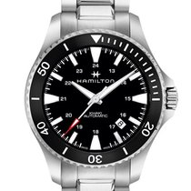 Hamilton Khaki Navy Scuba Black Dial Men's Watch H82335131