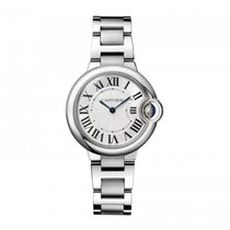 Cartier Ballon Bleu 33 mm NIB Quartz W6920084 Ladies WATCH