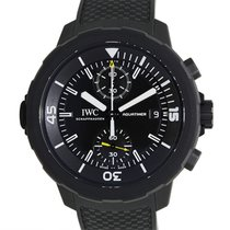 IWC Aquatimer Stainless Steel Black Automatic IW379502