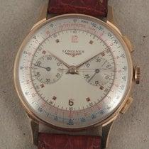 Longines Antique 18k gold - Chronograph