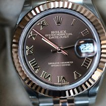 Rolex Lady-Datejust 28 chocolate dial new 2017