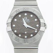 Omega Constellation 27 Gemstone Grey Dial