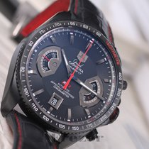 TAG Heuer Grand Carrera RS2 Chronograph Calibre17 Black Dial