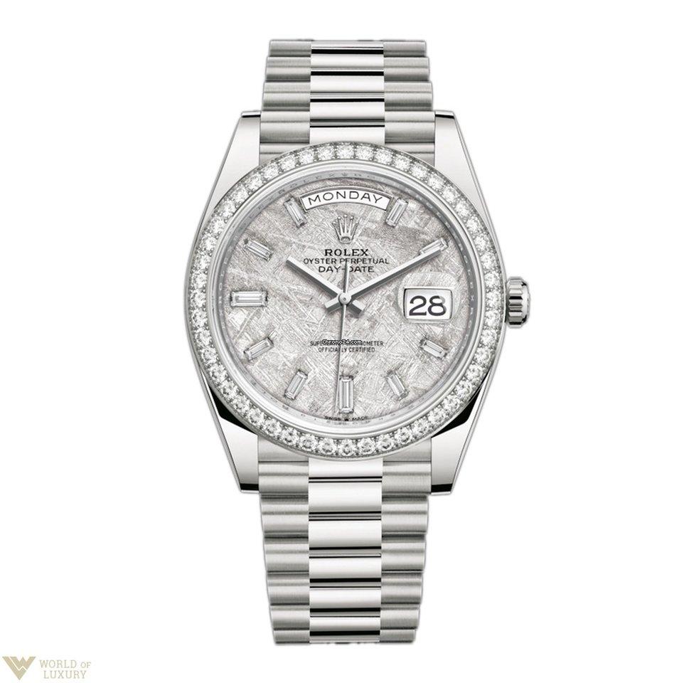 aae7686fede Rolex Oyster Perpetual President Day-Date 18K White Gold  ... por Preços  mediante pedido para vender por um Trusted Seller na Chrono24