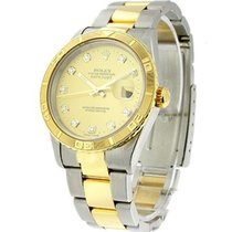 Rolex Used 16263 Mens 2-Tone Thunderbird Datejust 16263 -...