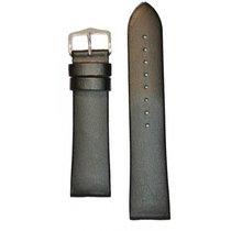 Hirsch Uhrenarmband Diamond Calf schwarz L 14120250-2-18 18mm