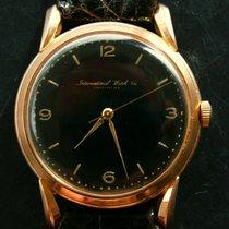 IWC Schaffhausen Kal.89 Rose Gold 18K 750 Vintage Armbanduhr