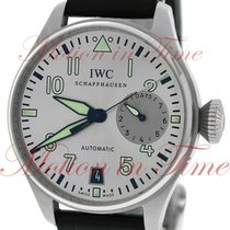 """IWC Big Pilot """"Father"""", Silver Rhodium Dial - Stainles..."""