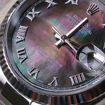 Rolex DATEJUST STAHL WEISSGOLD +MOP+REF 116234 +NOS+ Komplettp...