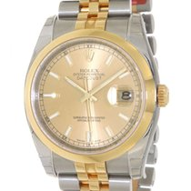 Rolex Datejust 116203 In Gold And Steel, 36mm