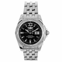 Breitling Windrider Galactic Cockpit 41 Automatic Watch A49350...