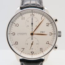 IWC Portuguese Chronograph Ref. IW371401 (Box&Papers)