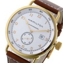 Hamilton カーキ KHAKI 自動巻き メンズ 腕時計 H77745553 ホワイト