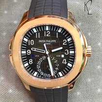 Patek Philippe Aquanaut Travel Time in Rose Gold