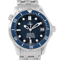 Omega Seamaster Bond Midsize 36mm Blue Dial Automatic Watch...