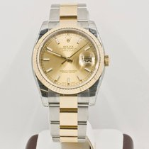 Rolex Datejust 116233 Champagne Face Rolex Box & Booklets...