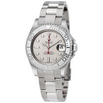 Rolex Yacht-Master Platinum Dial Stainless Steel Automatic...