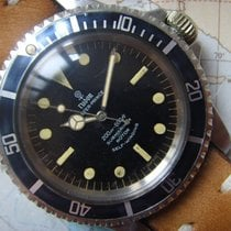 Tudor ROLEX 1966 Rare TWO COLOR GILT DIAL Rolex Submariner 7928