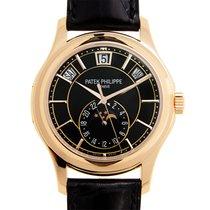 百達翡麗 (Patek Philippe) New  Complications 18k Rose Gold Black...