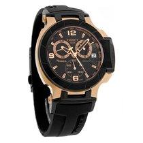 Tissot T-Race Chronograph Mens Black Dial Swiss Quartz Watch...