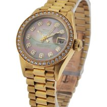 Rolex Used 179178 Ladys President with Factory Diamond Bezel -...