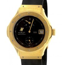 ウブロ (Hublot) Regulateur 1860.135.3 Yellow Gold, Rubber, 38mm