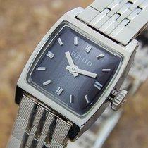 Rado T966 Stainless Steel Manual 60s Ladies Dress Watch Nr33