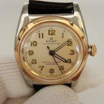 Rolex Vintage  Very Rare BubbleBack Patina Look ref 3133 Good...