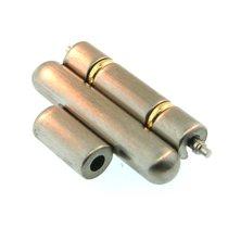 Breitling Utc 18mm Rouleaux Anstoss Stahl Gold Matt Steel...