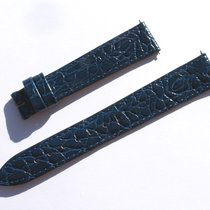 Hirsch Croco Band Crocoarmband 16mm Blau Blue Strap 72/113 ...