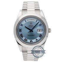 Rolex Platinum Day-Date II 218206