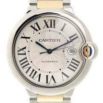 Cartier Ballon Bleu Stainless Steel Silver Automatic W2BB0022