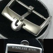 Omega 18mm STAINLESS STEEL Logo Buckle SPEEDMASTER SERIES Hi