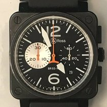 Bell & Ross Aviation Chronograph BR03-94 PVD AutomaticBox P